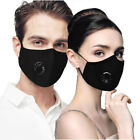 Внешний вид - Comfy Air Pollution Face Mask With 2Filter And Breathing Valve Haze Dust Filter
