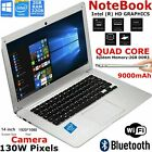 Hd 14 Inch Laptop Notebook Intel Quad Core 1.92ghz 32gb Emmc 2gb Ram Windows 10