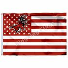 Fairfield Stags Nation Flag 3Ft X 5Ft Polyester Banner Flying Size 90*150Cm