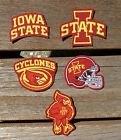 Iron On Sew On Transfer Applique Iowa State Cyclones Handmade Cotton Patches