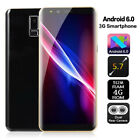 5.7inch S9 3g Unlocked Smartphone Android6.0 Dual Sim Gps Mobile Phone Hd Screen