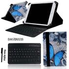 LEATHER STAND COVER CASE + Bluetooth Keyboard For Various Toshiba Encore Tablet