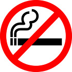 *****no Smoking Vinly Decal Sticker Multiple Sizes To Choose From*****