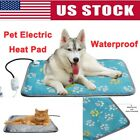 Pet Electric Heat Pad Heater Mat Warming Blanket Heating Dog Cat Bed Waterproof