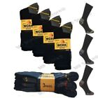 6 / 15 Pairs Mens Ultimate Work Boot Socks Size 6-11 Cushion Sole Reinforced Toe <br/> 3/6/12/15 Pairs Thick Warm Heavy Duty Sports Socks