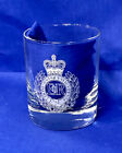 British Military Whisky Glass for UK Army Regiments, Royal Navy