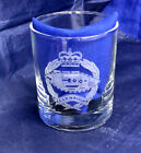 British Military Whisky Glass for UK Army Regiments, Royal Navy & RAFArmy - 66529