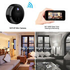 Black Mini HD 1080P Wireless Wifi Security Camera Camcorder For iPhone Android