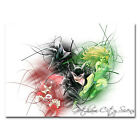 Catwoman Harley Quinn Poison Ivy Silk Poster 13x20 inch 02