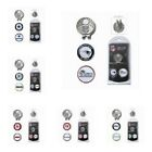 NFL TEAM CRESTED VISOR / HAT CAP CLIP WITH 2 GOLF BALL MARKERS.