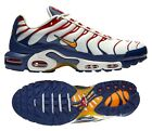 New NIKE Air Max Plus TN Team USA Men's Sneakers white red blue gold all sizes
