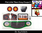 Personalized Replacment Sticker Fits Little Tikes Cozy Coupe II Car Toy Color