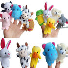 16PC Story Finger Puppets 10 Animals 6 People Family Members Educational Toy