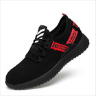 Mens Safety Shoes Steel Toe Work Boots Sports Hiking Shoes Trainers Lightweight