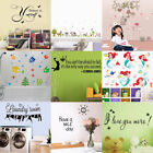 Vinyl Quotes Home Room Wall Sticker Removal Art Mural Decal Self Adhesive Decor
