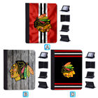 Chicago Blackhawks Leather Case For iPad 1 2 3 4 Mini Air Pro 9.7 10.5 12.9 $18.99 USD on eBay