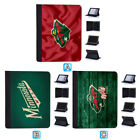 Minnesota Wild Leather Case For Apple iPad 1 2 3 4 Mini Air Pro 9.7 10.5 12.9 $18.99 USD on eBay