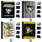 Pittsburgh Penguins Leather Case For iPad 1 2 3 4 Mini Air Pro 9.7 10.5 12.9 $18.99 USD on eBay