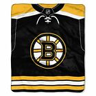 """Bruins OFFICIAL National Hockey League, """"Jersey"""" 50""""x 60"""" Raschel Throw  by The $37.99 USD on eBay"""