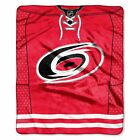 """Hurricanes OFFICIAL National Hockey League, """"Jersey"""" 50""""x 60"""" Raschel Throw  by $37.99 USD on eBay"""
