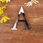 3D Mirror Letters Wall Stickers Kids Room Crafts Decal Art Home DIY Decor