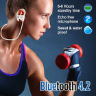 Waterproof Bluetooth Earbuds Beats Sports Wireless Headphones in Ear Running