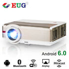 Home Theater Projector HD LED Android Wifi Bluetooth Wireless Online Video HDMI