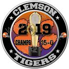 Clemson Tigers CFP 2019 National Championship Sticker Decal College Football