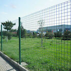 Green PVC Coated Wire Mesh Fence Garden Protective Netting Border Safeguard A