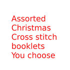 Внешний вид - Christmas counted cross stitch pattern booklets - You choose book