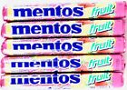 Mentos Chewy Fruit Variety Fresher Breath, 1.32 Ounce Rolls