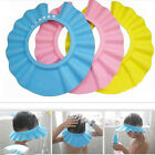 Adjustable Baby Kids Shampoo Bath Bathing Shower Cap Hat Wash Hair Shield QW PQ