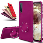Bling Diamond Crystal Soft Magnetic Case Cover For Samsung Galaxy A6 A7 A8 2018