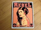 Rebel Princess Leia sticker decal Star Wars propaganda poster style empire luke $3.95 USD on eBay