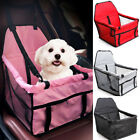 Fold Dog Booster Car Seat Safe Basket Puppy Travel Auto Carrier Bag Pet Supply