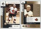 2001-02 SP Authentic Gold Limited #165 Ivan Ciernik Ottawa Senators Hockey Card