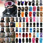 Full Face Mask Balaclava Cycling Motorcycle Snowboard Thermal Fleece Neck Warmer