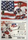 1995-96 Donruss Elite World Juniors/1000 #37 Matt Hervey Herr Rookie Hockey Card
