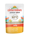Almo Nature HFC Jelly  Wet Cat Food Pouch with Chicken (Pack of 24 x55g)