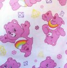 Care Bears Cotton Fabric, Per Fq 110Cm Wide, Ideal For Quilting, Dressmaking