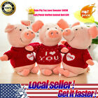 HOT Cute Pig Toy Love Sweater 30CM Soft Plush Stuffed Animal Lovely Doll Gift P2