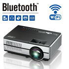 WiFi Backyard Home Theater System 1080P Video Projector LCD LED Multimedia WXGA