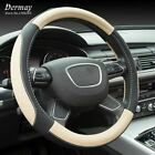 Steering Cover Car Wheel Hubs Four Trend Odorless Sets 38cm Top Layer Leather