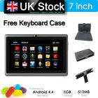 """7"""" Tablet Pc 8g Android 4.4 Octa-core Dual Camera Wifi Phone Phablet 5 Colors"""