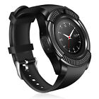 Round Touch Screen Women Men Bluetooth Smart Watch Phone Call Text for LG HTC M9