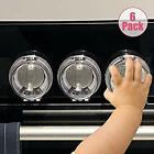 Safety Children Kitchen Stove Knob Covers Eudemon 6 Pack Suit for Small Gas Knob