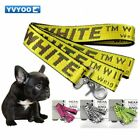 Dogs Cats Pet Lead Leashes Dog Harness Breakaway Off White 160CMx3.5CM Size New