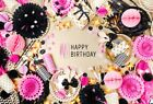 7x5ft Birthday Photography Party Background Unicorn Balloon Vinyl Photo Backdrop