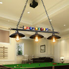 Antique Industrial Ball Design Pool Table Light Billiard Lamp with Metal Shades $159.99 USD on eBay