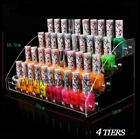 Acrylic Clear Cosmetic Varnish Display Stand Pro4-7 Tiers Removable Nail Polish